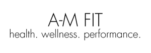 AM Fit: logo